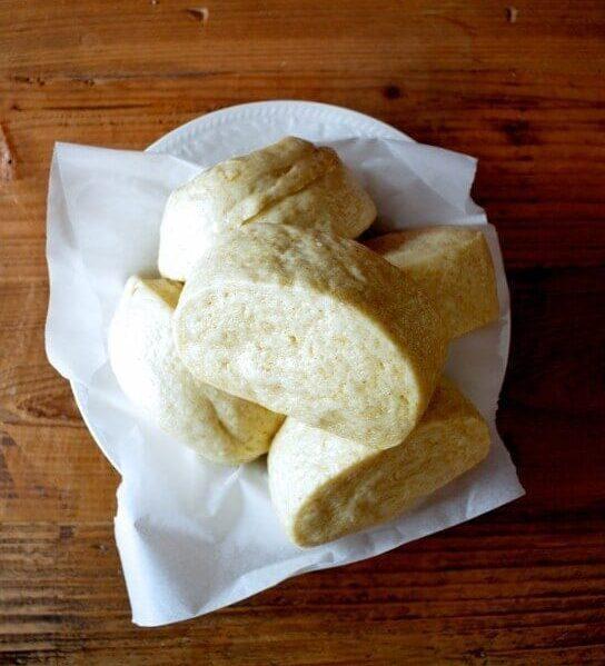 Steamed mantou