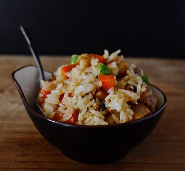 Lightning Lunchtime Chicken & Rice