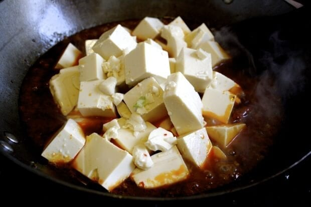 Ma Po Tofu Recipe - The REAL Deal by thewoksoflife.com