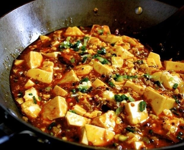 Chinese Ma Pu Tofu Recipe — Dishmaps