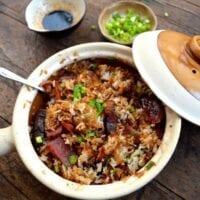 Hong Kong Style Clay Pot Rice Bowl
