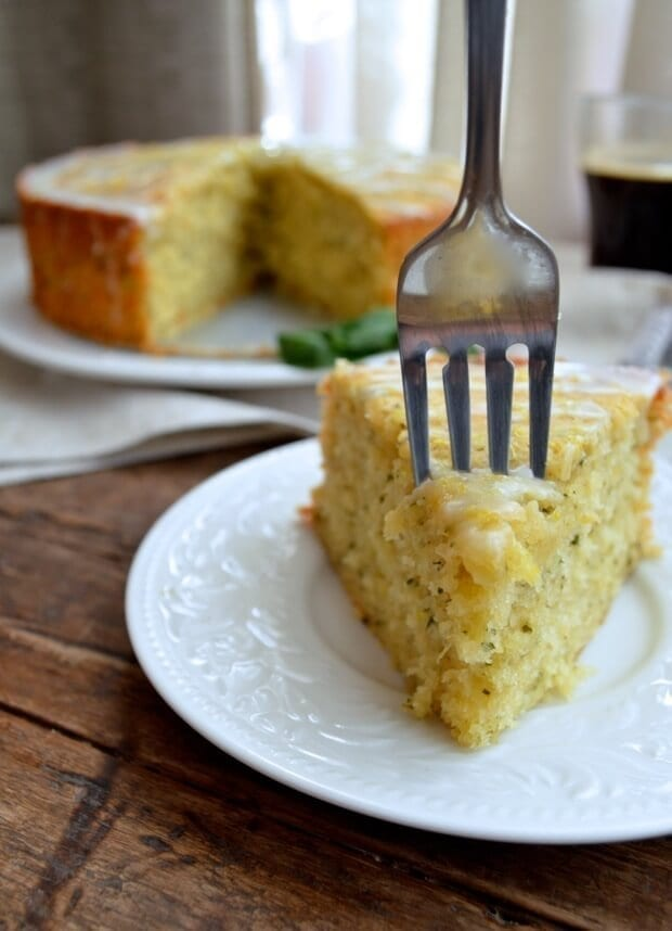 Lemon Basil Yogurt Cake Recipe The Woks Of Life