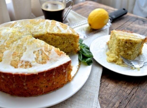 All Recipes Lemon Yogurt Cake: Lemon Basil Yogurt Cake Recipe