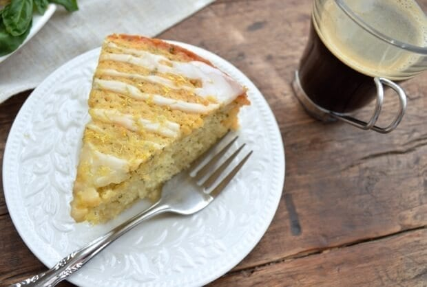 Thewoksoflife Lemon Basil Cake