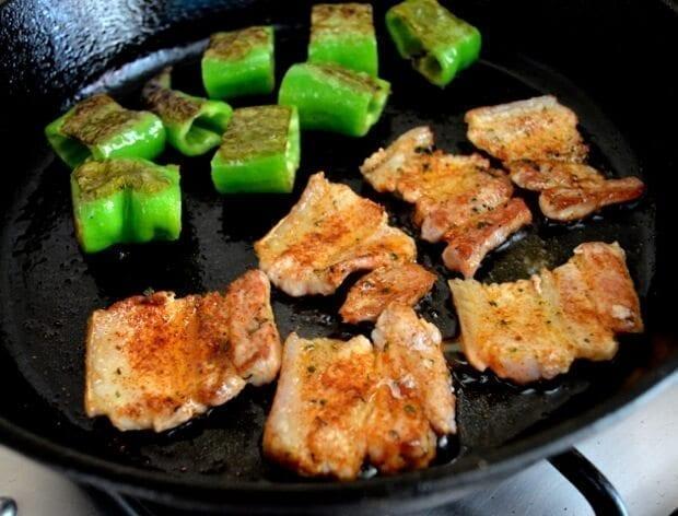 A Trio of Pinchos - Basque Country Favorites - pork belly Pincho, by thewoksoflife.com