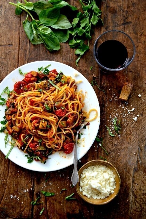 Roasted Ratatouille Pasta Recipe
