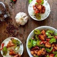 Sichuan Three Pepper Chicken
