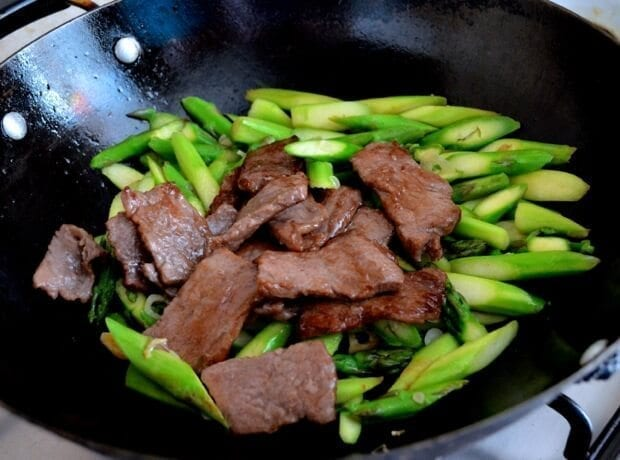 Beef Asparagus Stir fry - The Woks of Life