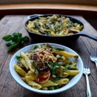 Chicken Penne w/ Asparagus and Peas
