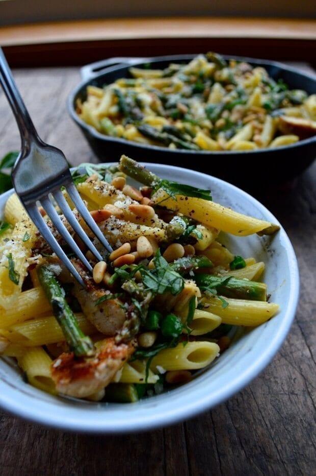 chicken-penne-asparagus-10