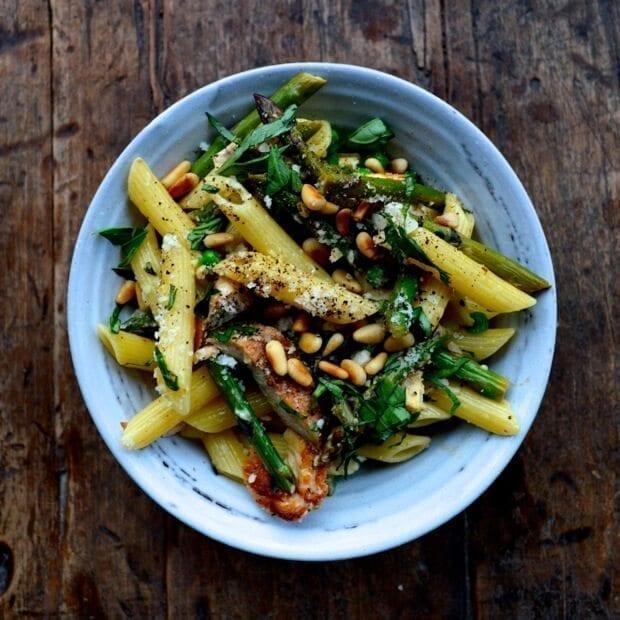chicken-penne-asparagus