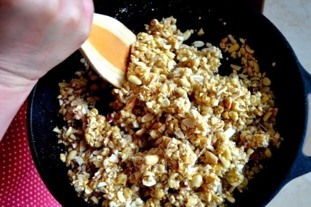 Homemade Chinese Sesame Peanut Brittle, by thewoksoflife.com