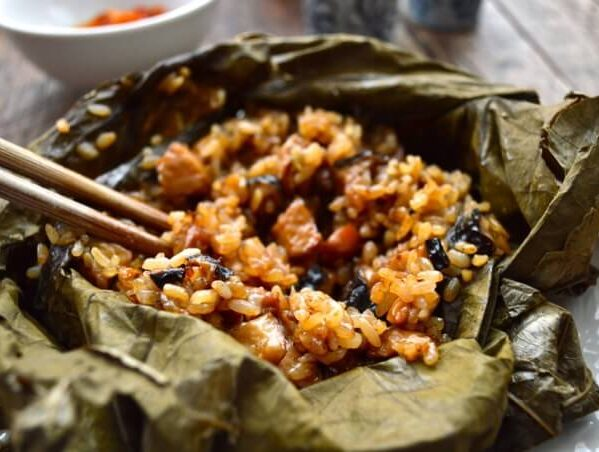Dim sum sticky rice