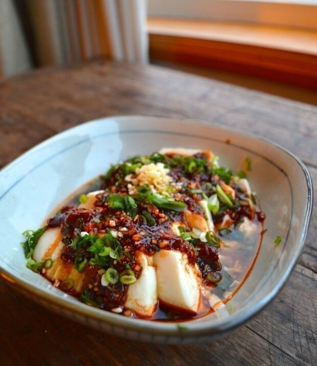 Spicy Cold Tofu Liangban Dofu