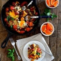 Ratatouille Brunch Egg Bake for Mother's Day