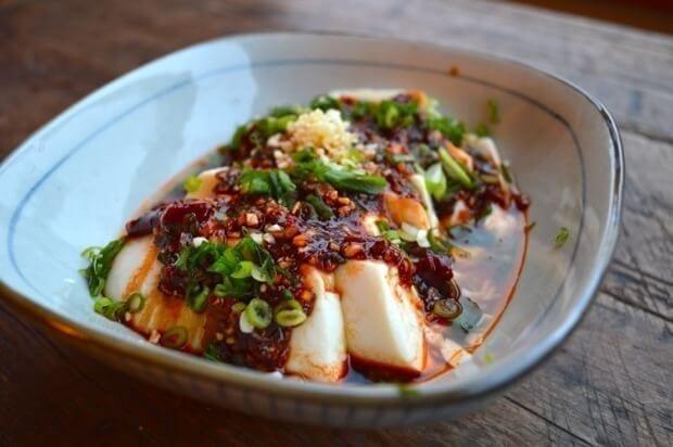 Spicy cold tofu liangban dofu a 5 minute recipe spicy cold tofu liangban dofu a 5 minute recipe by thewoksoflife forumfinder Images