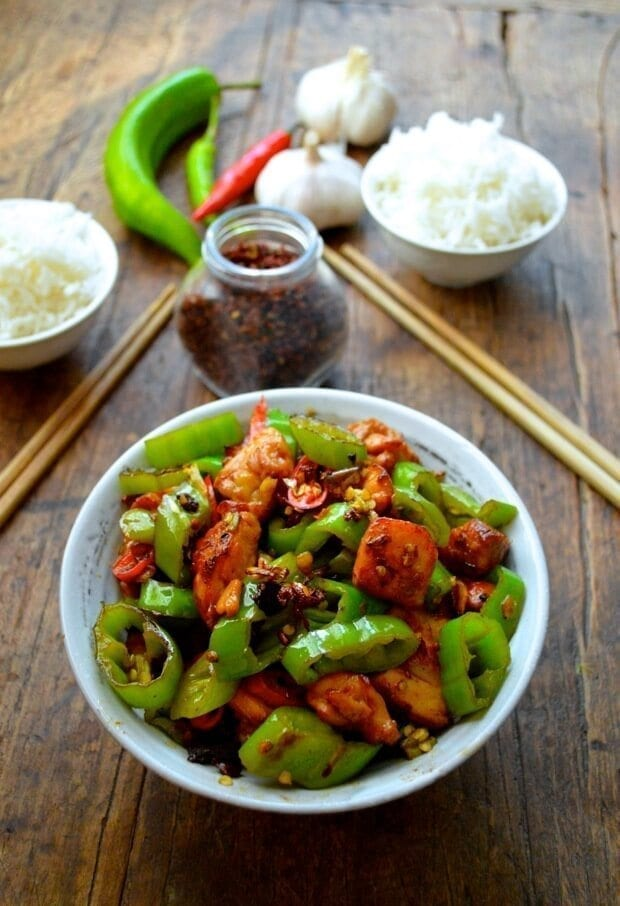 three-pepper-chicken-spicy