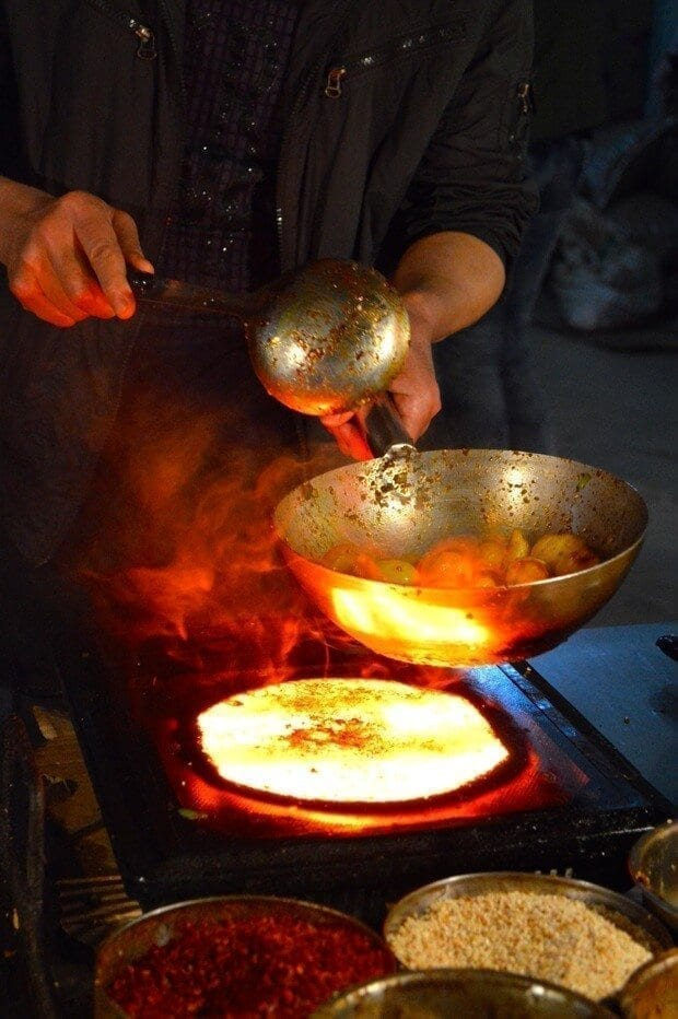 Street Food Adventures in Xi'An