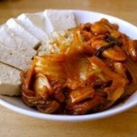 Fast Dubu Kimchi (Tofu w/ Stir-fried Kimchi & Pork)