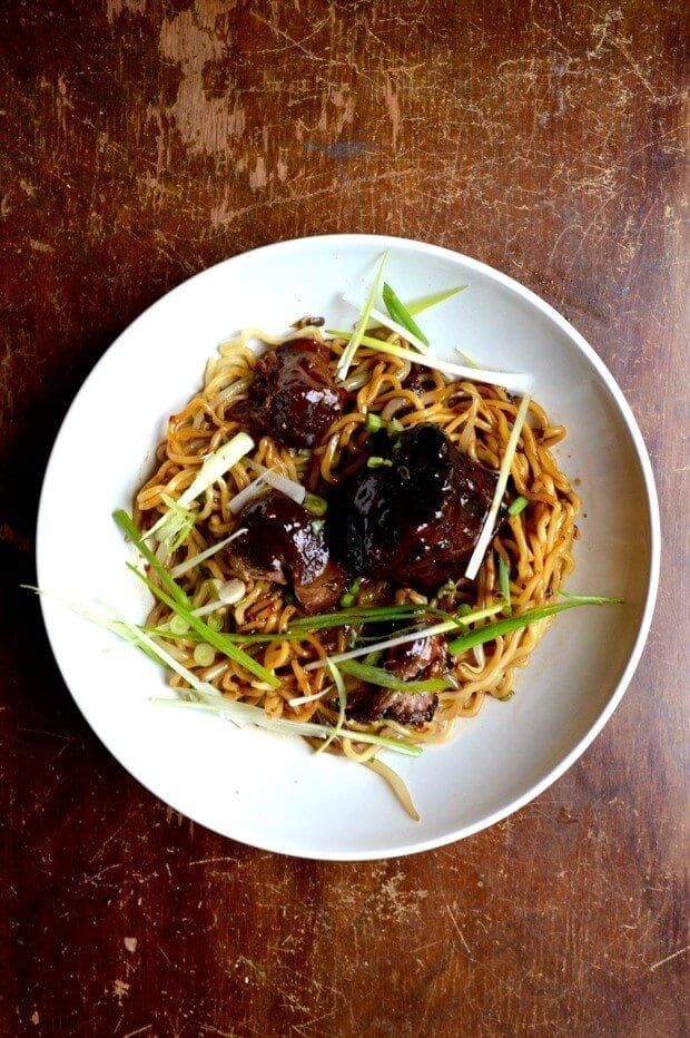 Braised Oxtail Noodles - The Woks of Life