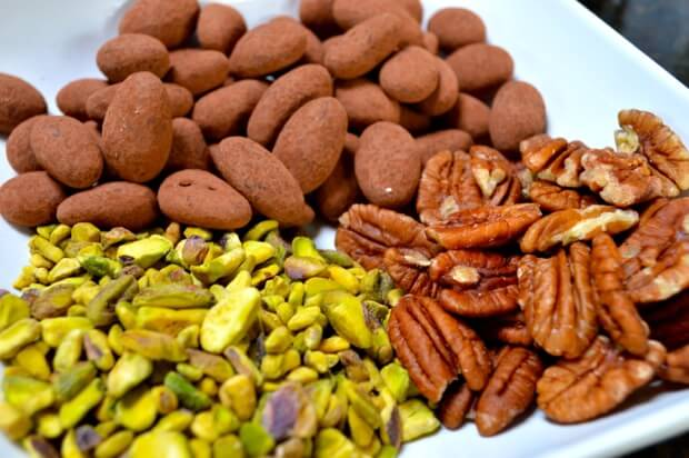 pistachios-pecans-almonds-chocolate
