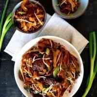 Beef Chow Fun Noodles (gon chow ngau ho)