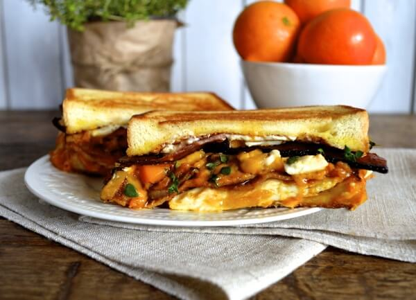 The Morning Glory Breakfast Sandwich by thewoksoflife.com