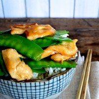 Chicken with Snow Peas Stir-fry