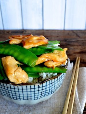 Chicken with Snow Peas Stir-fry by thewoksoflife.com