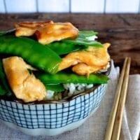 Chicken with Snow Peas Stir-fry by thewoksoflife.com