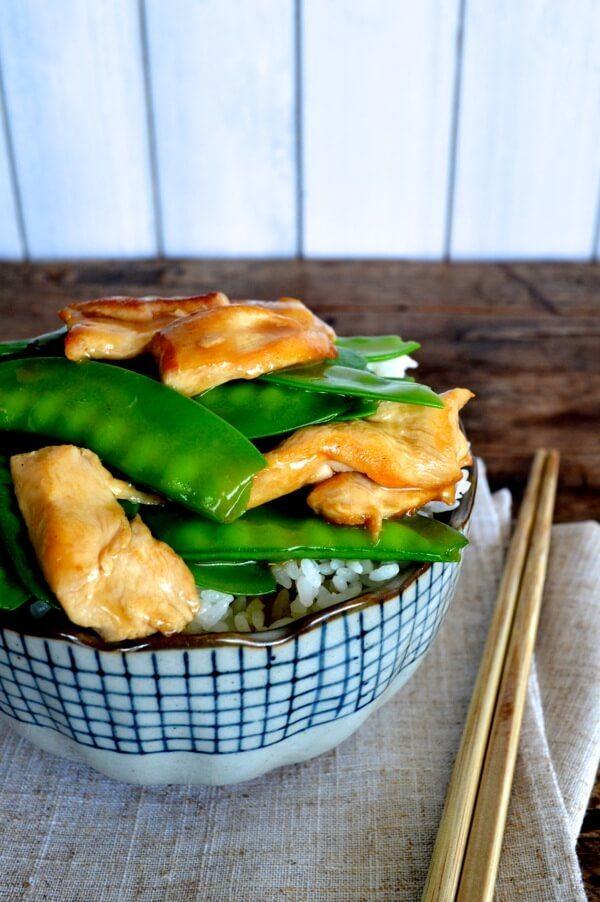 Chicken Snow Peas Stir-fry - The Woks of Life