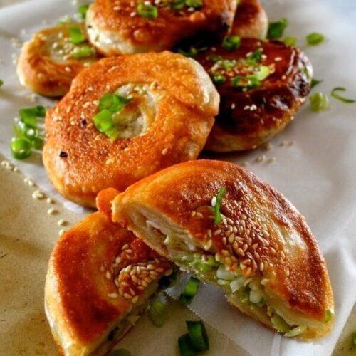 Xi An Stuffed Pancake Street Food Recipe The Woks Of Life