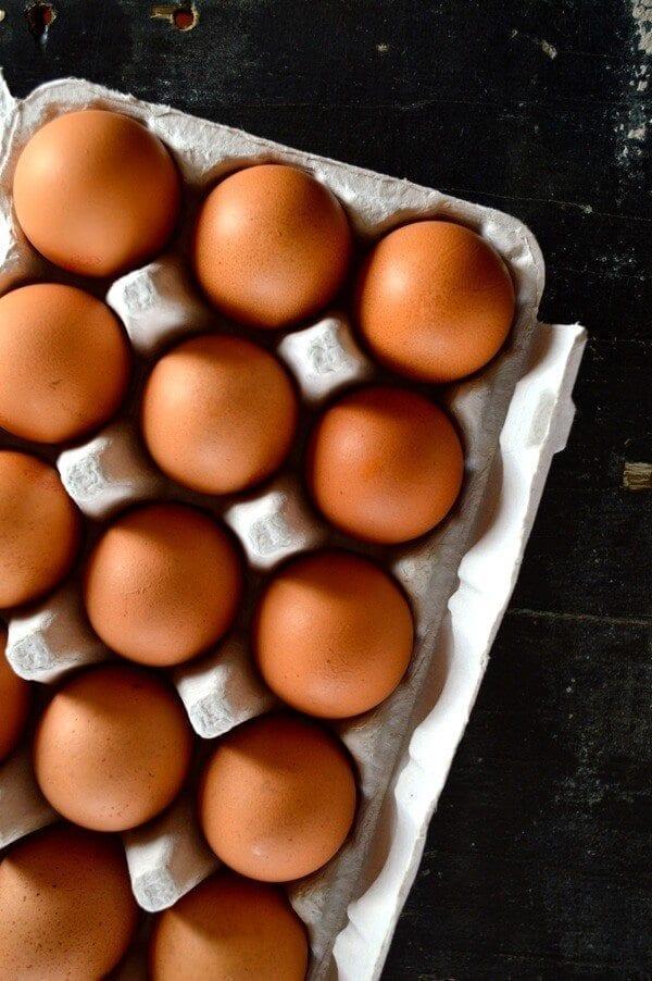 Fresh Eggs by thewoksoflife.com