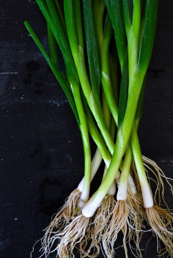 Fresh Scallions by thewoksoflife.com
