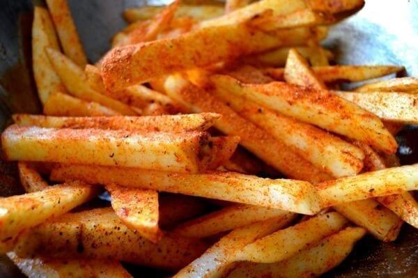 Homemade Fries by thewoksoflife.com