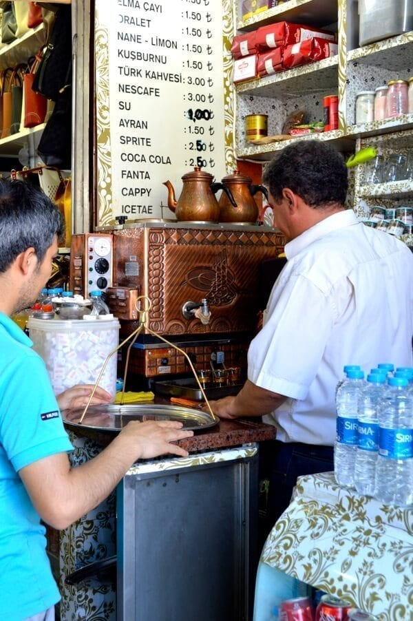 Istanbul Turkish Tea - How to See Istanbul In One Day by thewoksoflife.com