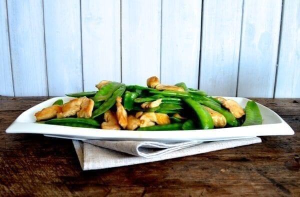 Chicken Snow Peas Stir-fry by thewoksoflife.com