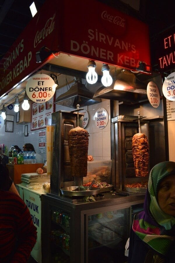 Turkish doner kebap - How to See Istanbul In One Day by thewoksoflife.com