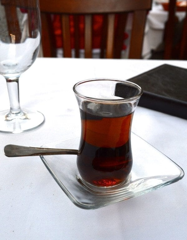 Turkish Tea - How to See Istanbul In One Day by thewoksoflife.com