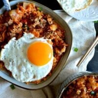 Beef and Kimchi Fried Rice – Chinese Korean Fusion