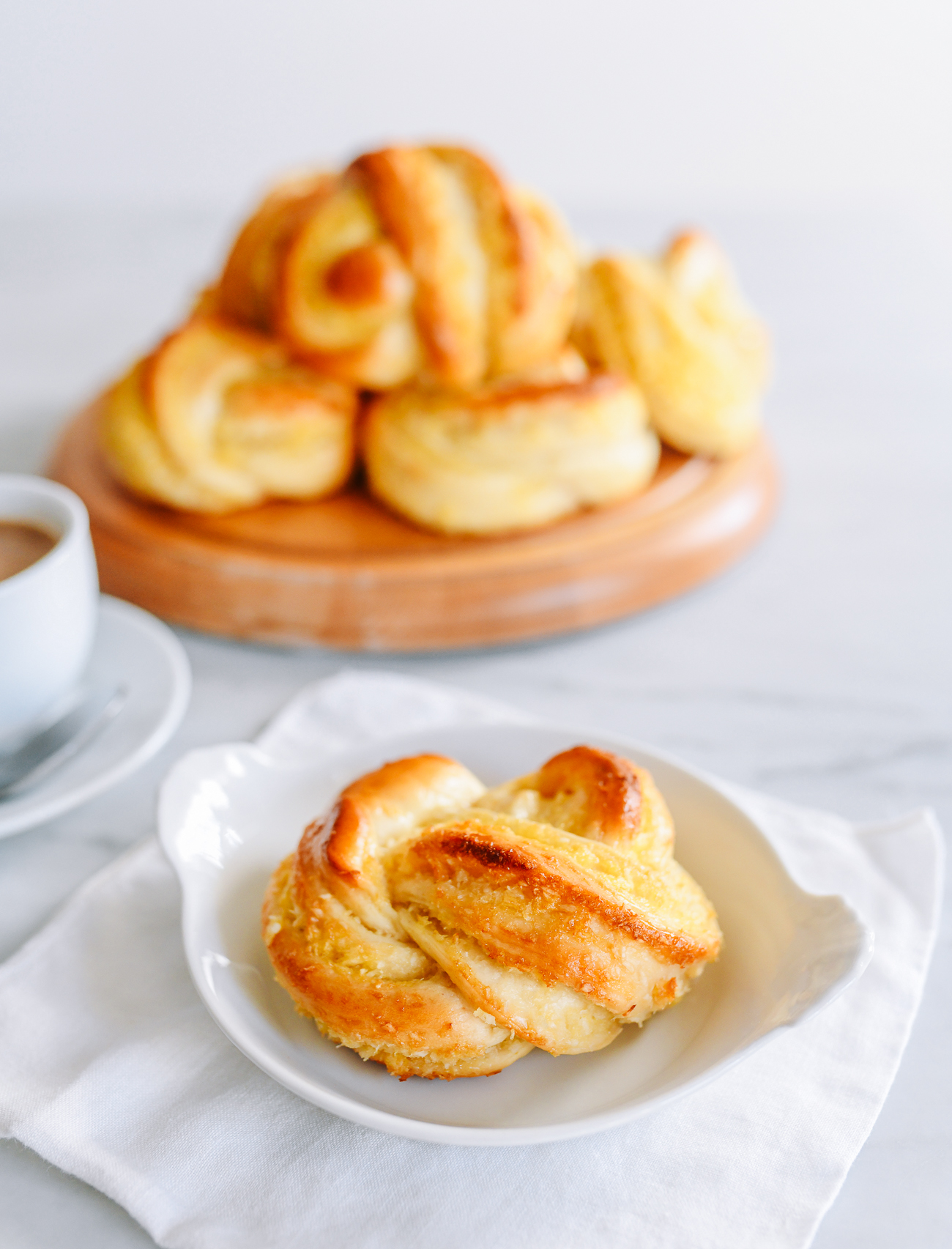 Baked Inside Out Hong Kong Coconut Buns