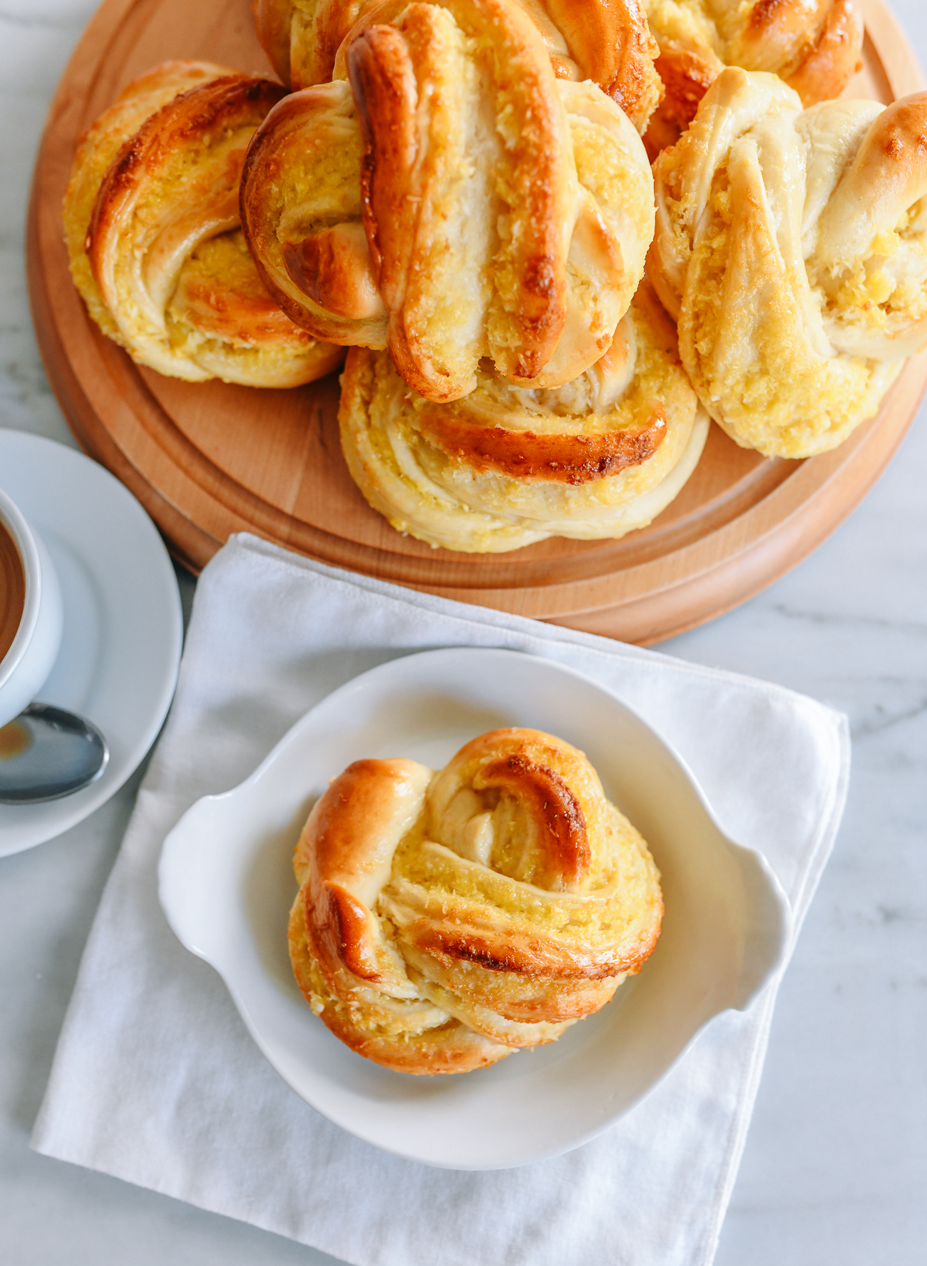 Chinese Coconut Buns