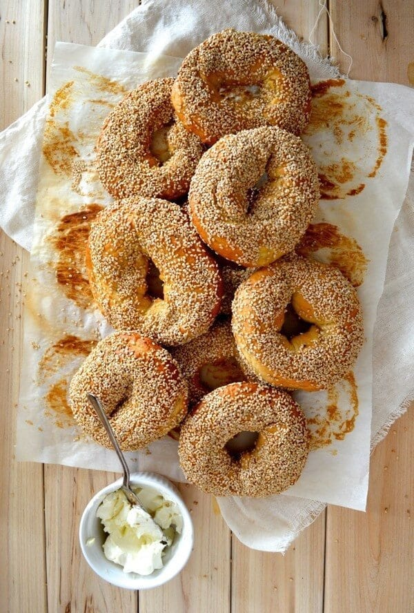 Montreal Bagels, An Authentic Homemade Recipe, by thewoksoflife.com
