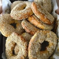 Homemade Montreal Bagels