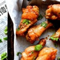 Thai Style Red Curry Lime Wings