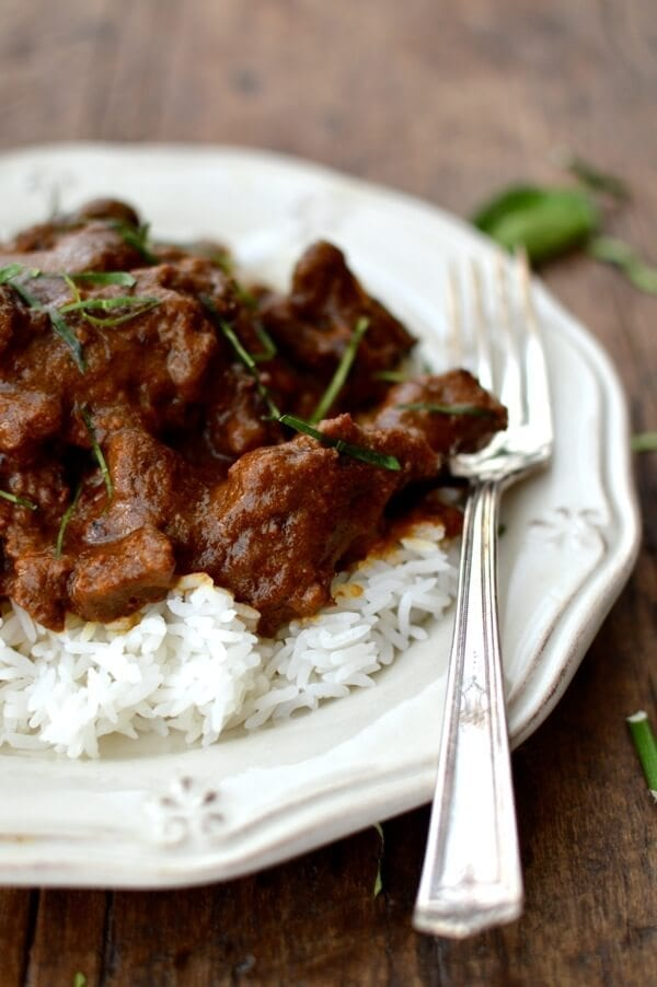 Beef Rendang, by thewoksoflife.com