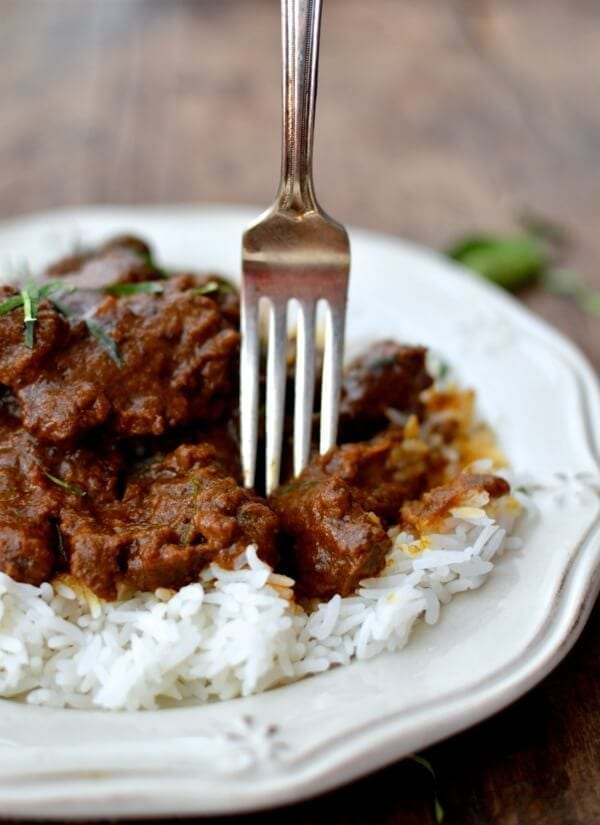 Beef Rendang, A Malaysian Classic, by thewoksoflife.com