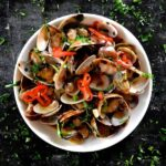 Clam Stir-fry with Black Beans