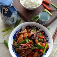Chinese Eggplant with Garlic Sauce