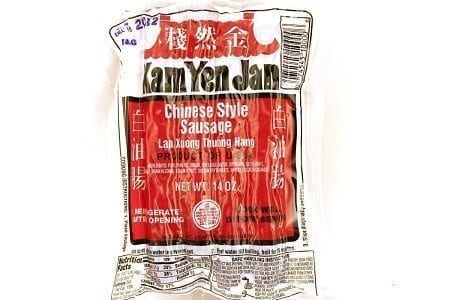 Chinese Style Sausage (Lap Xuong Thuong Hang) - 14oz [Pack of 3)